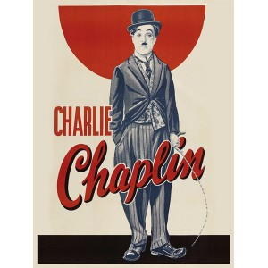 Placa Decorativa - Charlie Chaplin