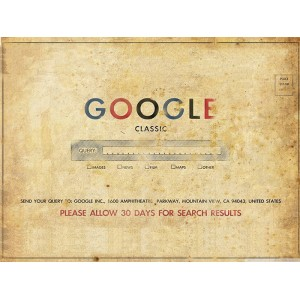 Placa Decorativa - Google Vintage