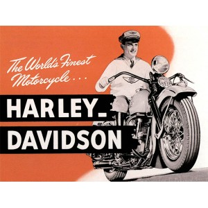 Placa Decorativa - Harley Davidson
