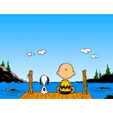 Placa Decorativa - Snoopy 02