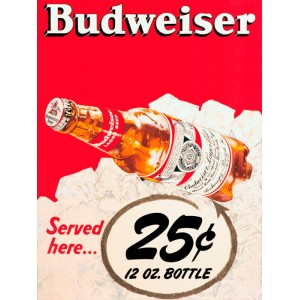 Placa Decorativa - Budweiser