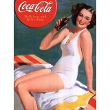 Placa Decorativa - Coca-Cola Vintage