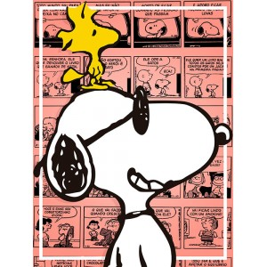 Placa Decorativa - Snoopy 01